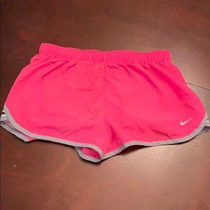 Nike Dri-Fit Small Hot Pink Workout Shorts